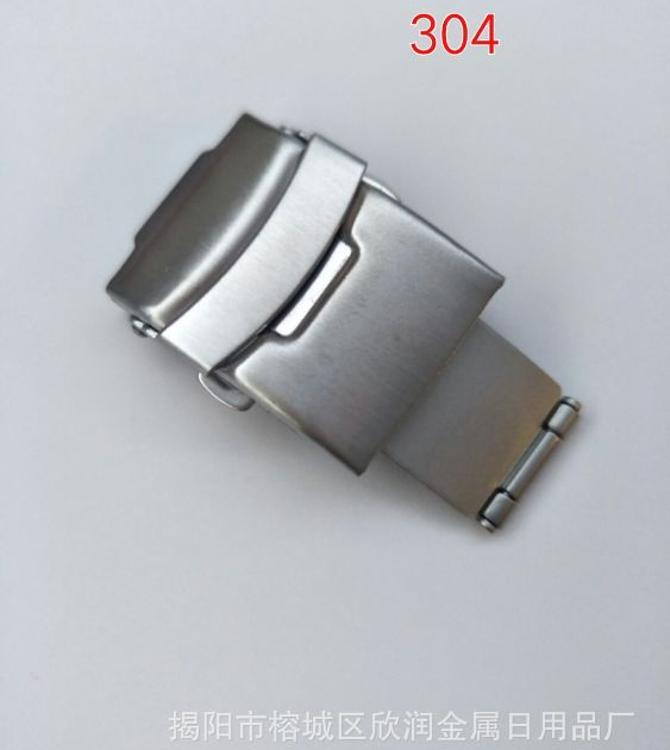 厂家热销304双按表扣,保险扣,表扣