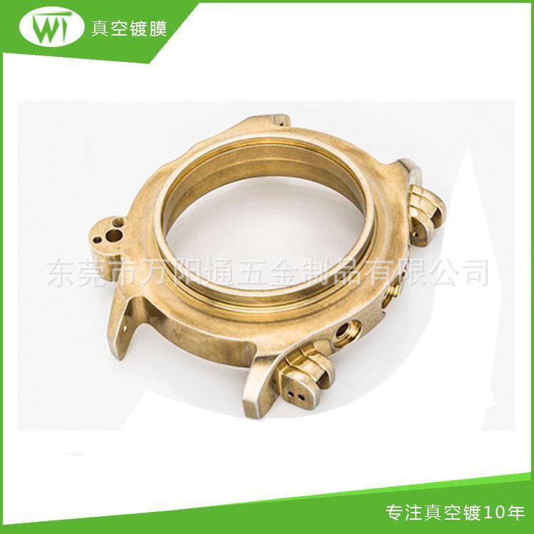 高档时尚女士锌合金表壳 不锈钢表壳配件男士制动械表壳加工 电镀