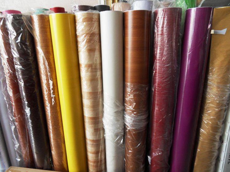 仿木纹衣柜子翻新旧门家具贴纸木纹自粘墙纸防水波音软片