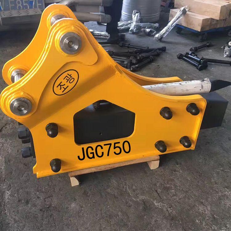 烟台金功创JGC750液压破碎锤厂家直销可定做适用三一斗山小松卡特