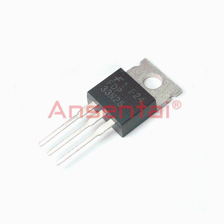 原装|FDP33N25 TO220 N沟道场效应三极管 33A250V 电子元器件配套