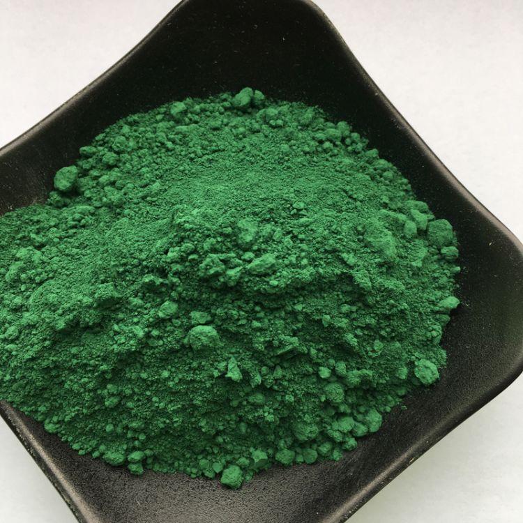 厂家直销  氧化铁绿5605 复合铁绿/钛青绿美术绿建筑地坪着色