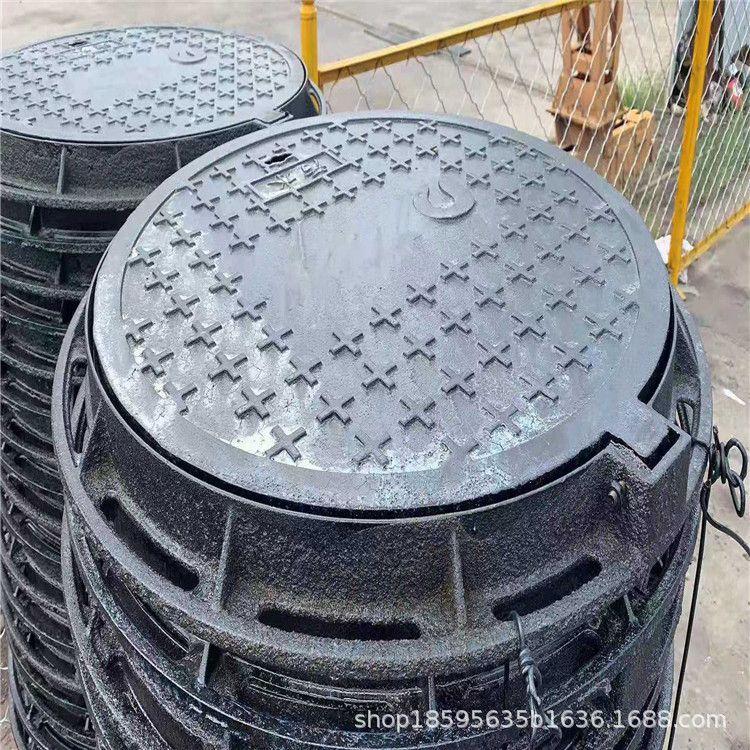 批發球墨鑄鐵井蓋?球墨鑄鐵污水 雨水井蓋700*800 方形電力井蓋