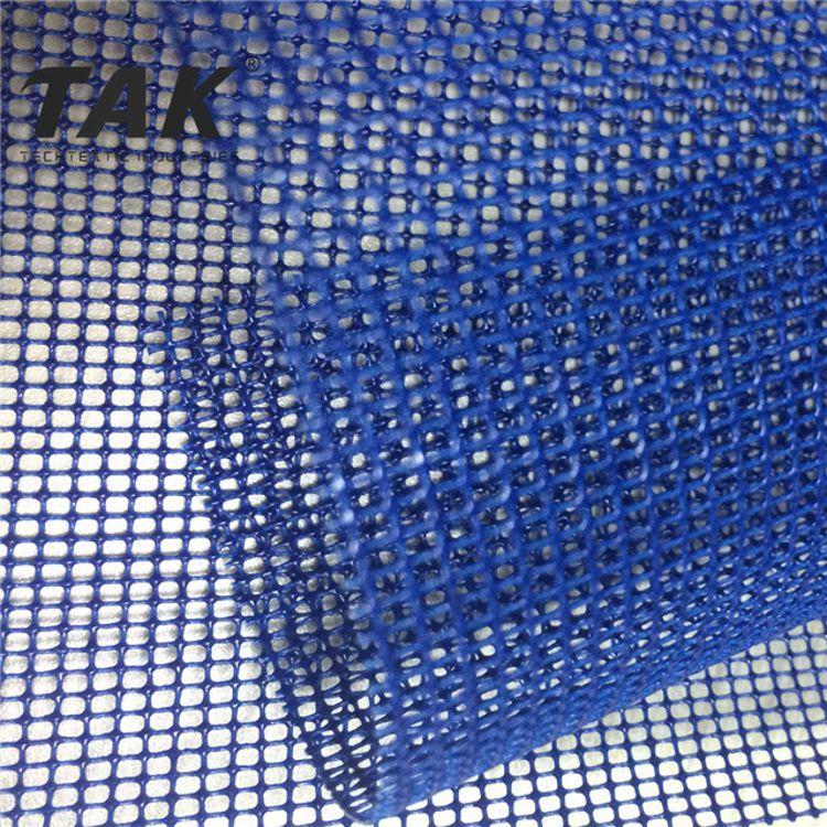 TAK厂家直销 B1阻燃 PVC涂层塑料网格布 聚酯PVC网格布