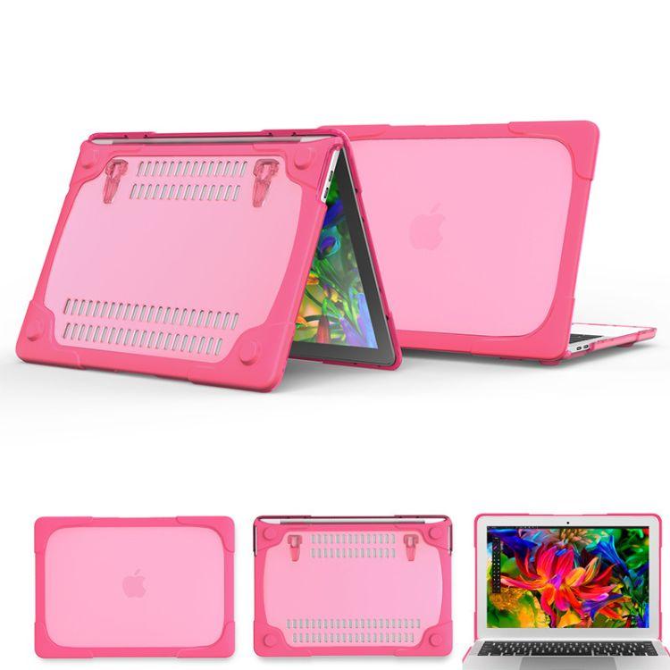适用于13寸日韩多色透明电脑保护壳 mac 苹果电脑保护壳 全包防摔