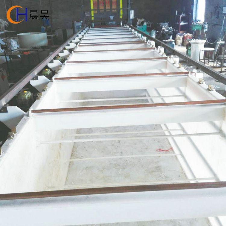 PP电镀槽 耐酸碱水箱  聚丙烯酸洗槽 加工定订pp电镀设备 电镀环保设备