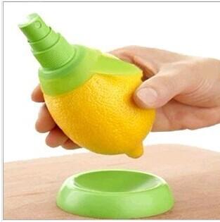 厨房创意家居用品手动水果汁喷雾器柠檬榨汁器单个装