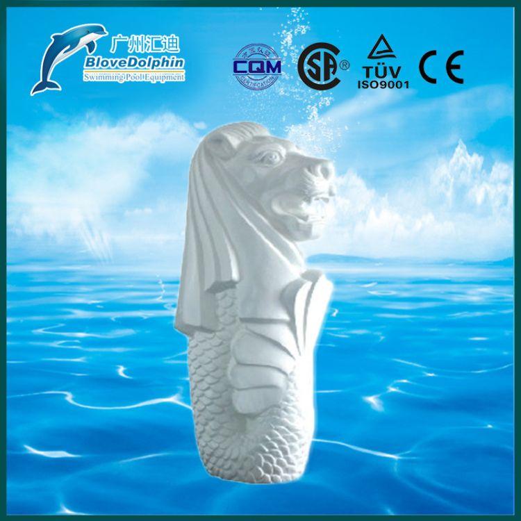 喷水动物设备 海狮/海马/小象/美丽可爱的喷水设备 水疗馆