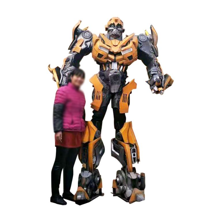 大黄蜂可穿戴 真人可穿戴演出服装机器人模型卡通机器人服装道具