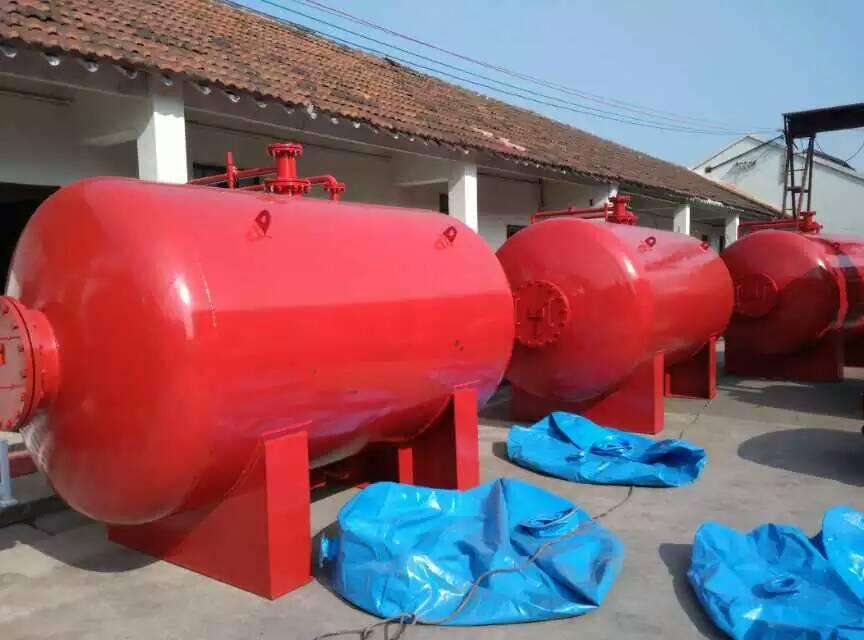 扬州消防泡沫罐厂家供应  化工专用消防水成膜储罐