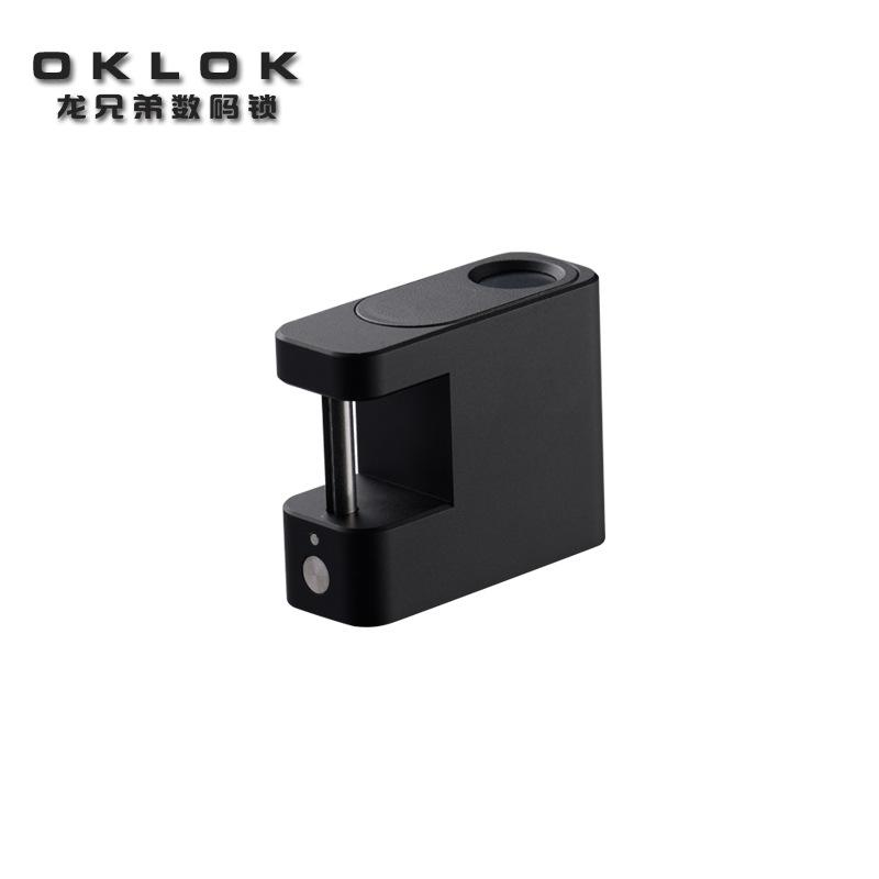 深圳智能挂锁厂家 迷你拉杆箱旅行包锁 书包锁指纹锁厂家 挂锁箱包OKLOK