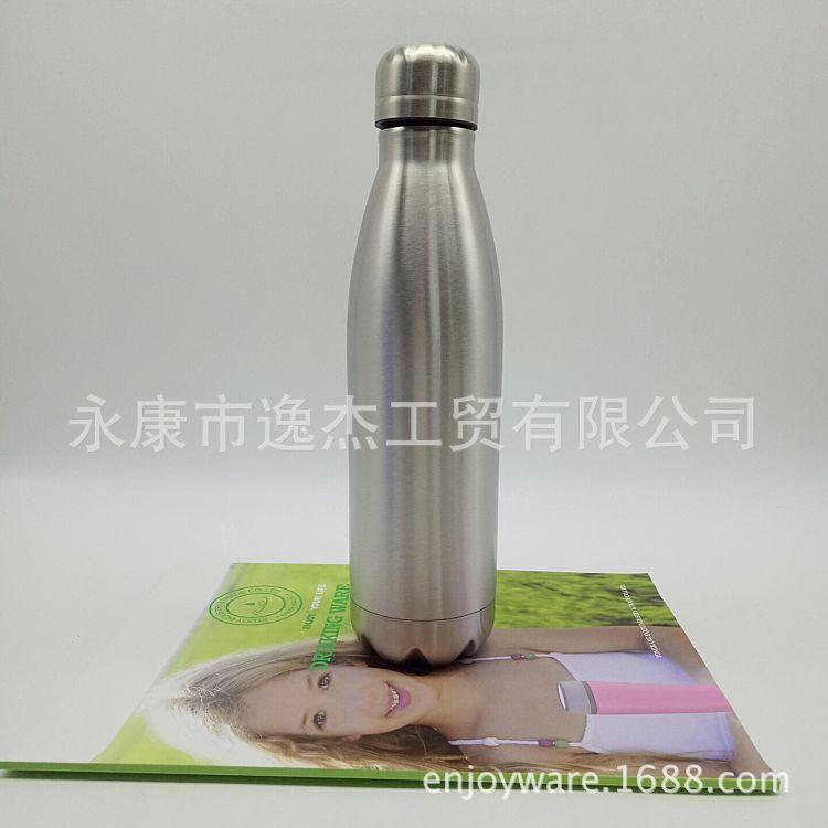 创意保温杯304不锈钢保温保冷水瓶可乐瓶保龄球杯礼品杯工厂直销