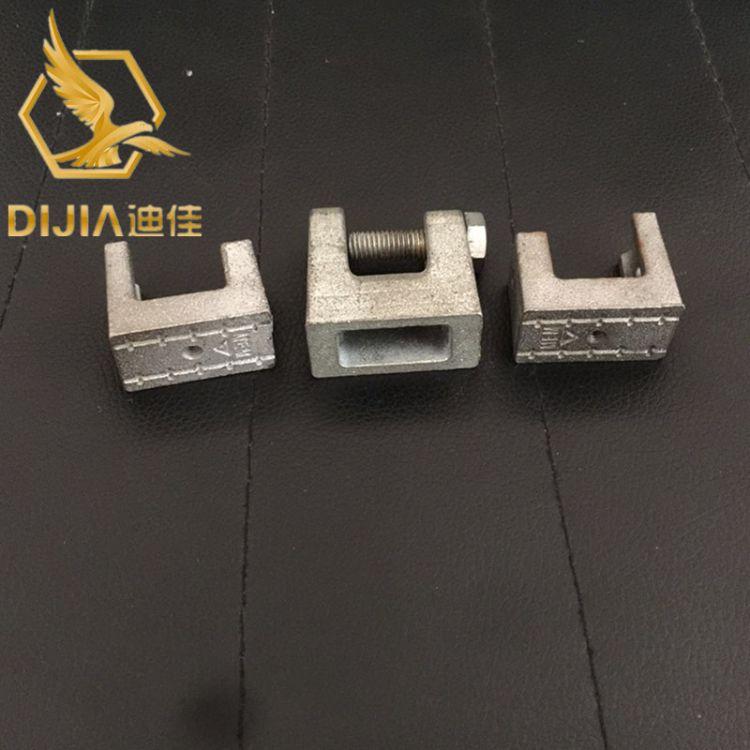 厂家供应老虎卡  铁皮 C型钢老虎卡 加工定制异型卡 专业值得信赖