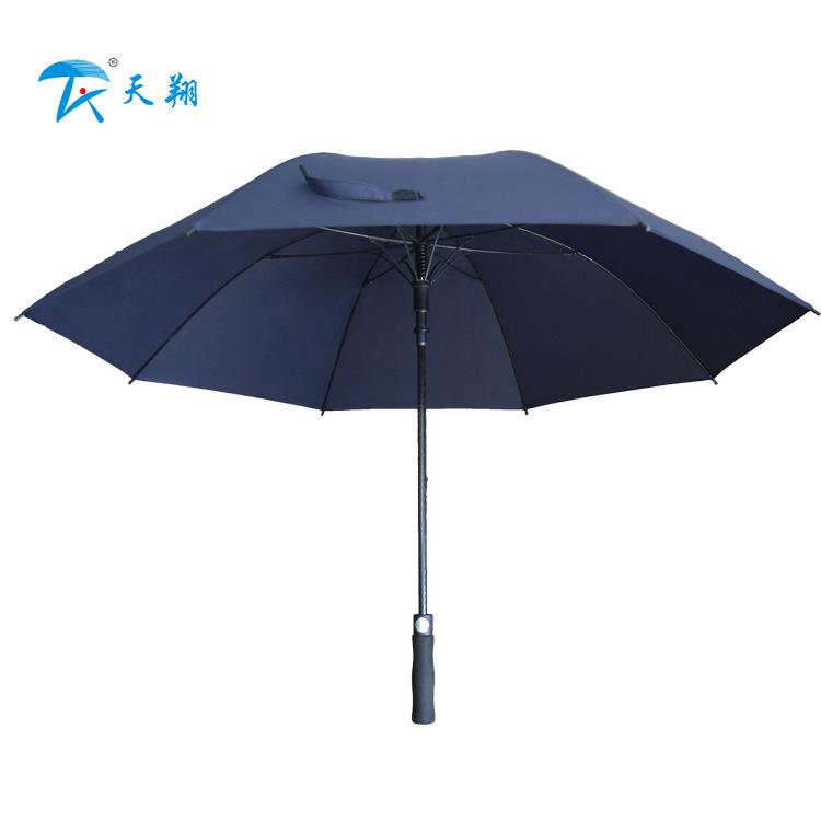 双人全纤维伞接待商务高档伞 广告宣传促销礼品活动高尔夫直杆伞