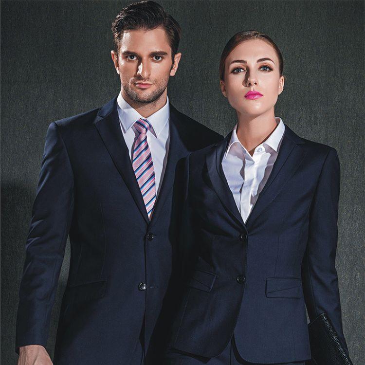 【新品上市】职业女装长袖套装 韩版修身西装套装 厂家批发