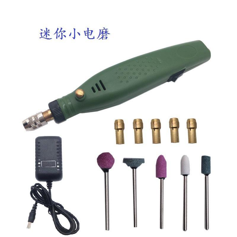 厂家迷你电磨笔电磨套装配件除胶机抛光机雕刻笔修牙工具文玩电钻