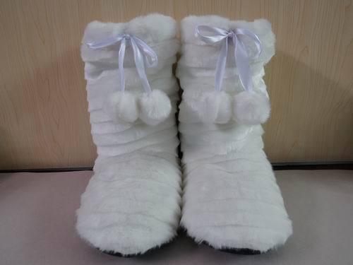 保暖鞋,毛绒保暖靴,室内暖鞋