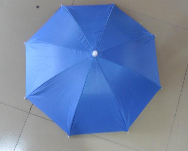 供应28 38公分大号银胶素色 迷彩帽伞 广告雨伞 可印LOGO