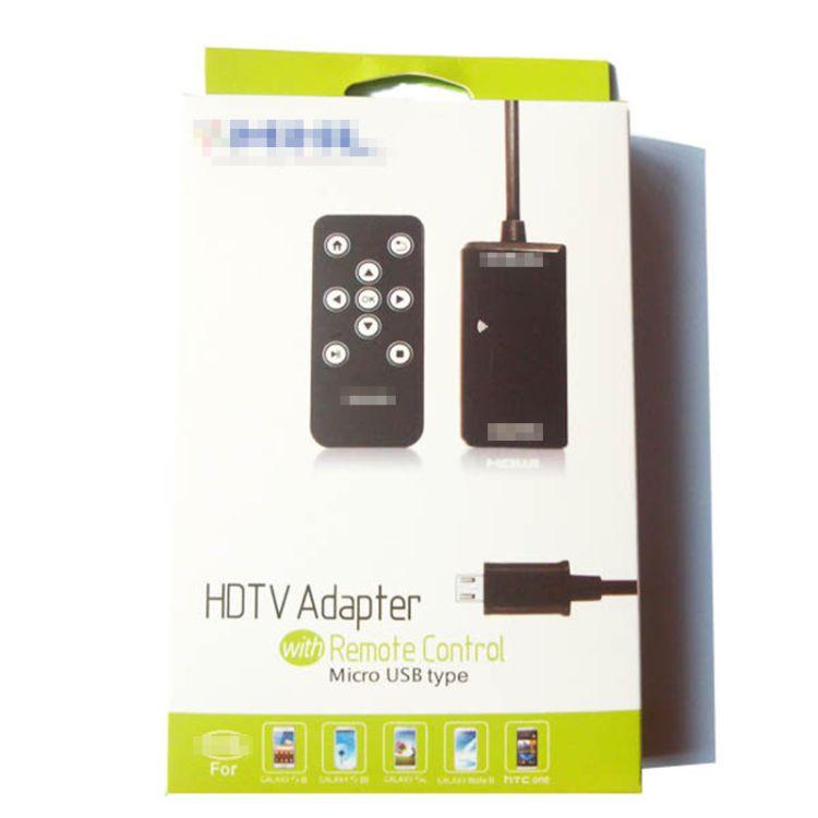 安卓高清线 安卓手机转HDMI高清线 带摇控HDMI适配器
