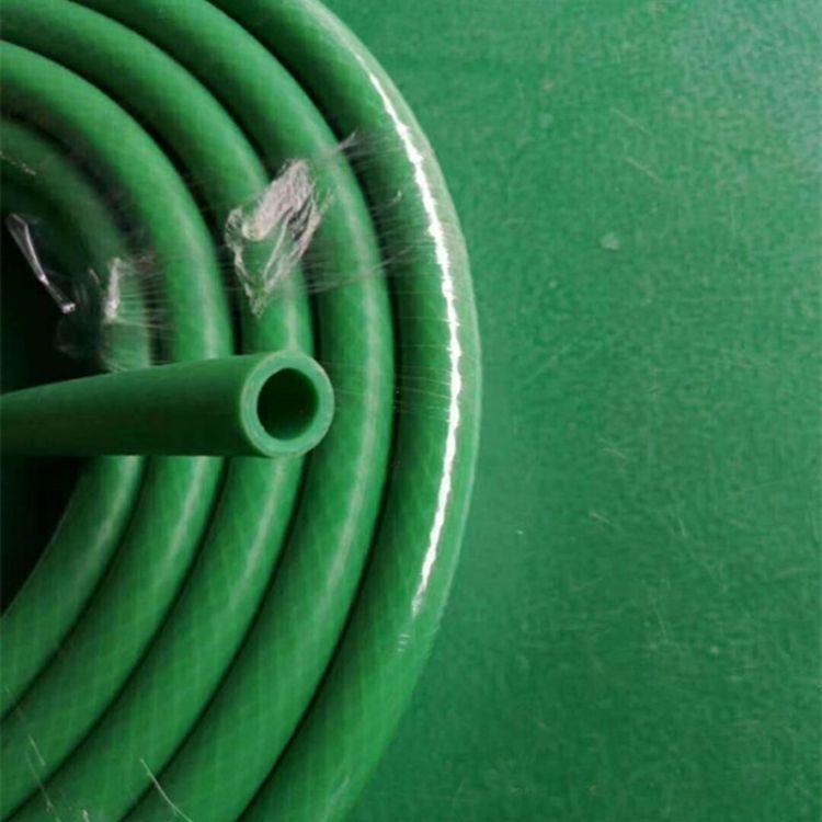 科诚厂家批发绿色橡胶管 氧气线胶管 加线彩色橡胶管