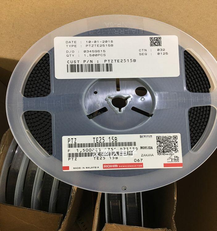 原装ROHM PTZTE2515B  稳压晶体管贴片二极管电子元器件