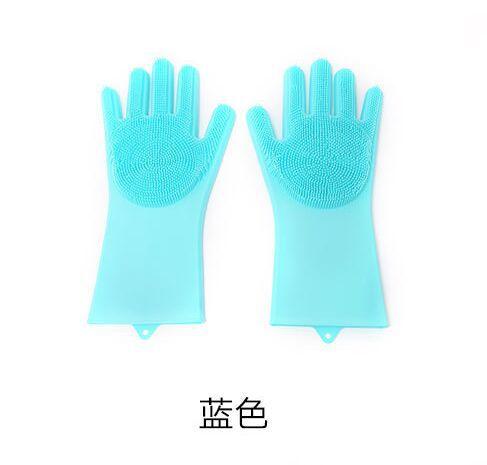 厂家直供环保无异味家庭好帮手魔术硅胶手套防烫耐高温防滑