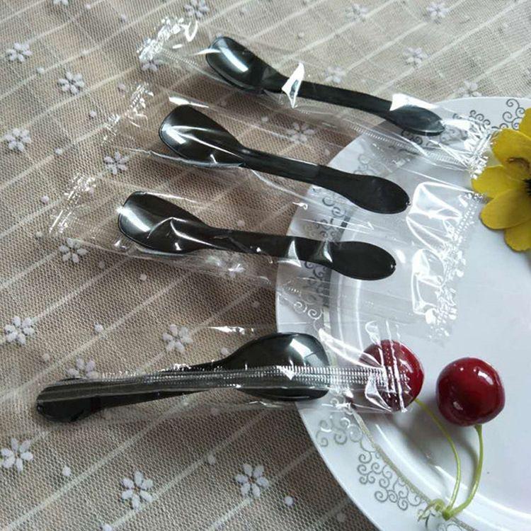 瑛琪 塑料雪糕勺子独立包装 一次性塑料独立包装餐具
