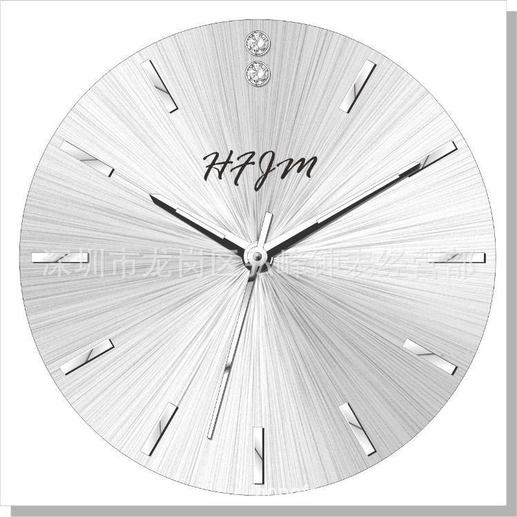 手表钟表配件 表面厂家批发 盘面加工 字面加工 字盘订做相纸面