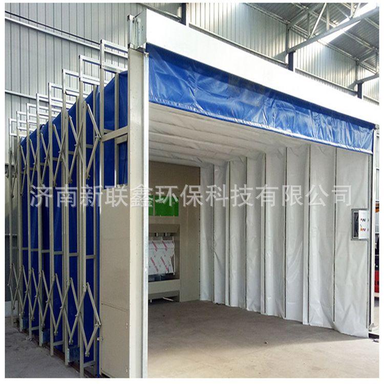 工业烤漆房 伸缩喷漆房 环保折叠移动式伸缩房