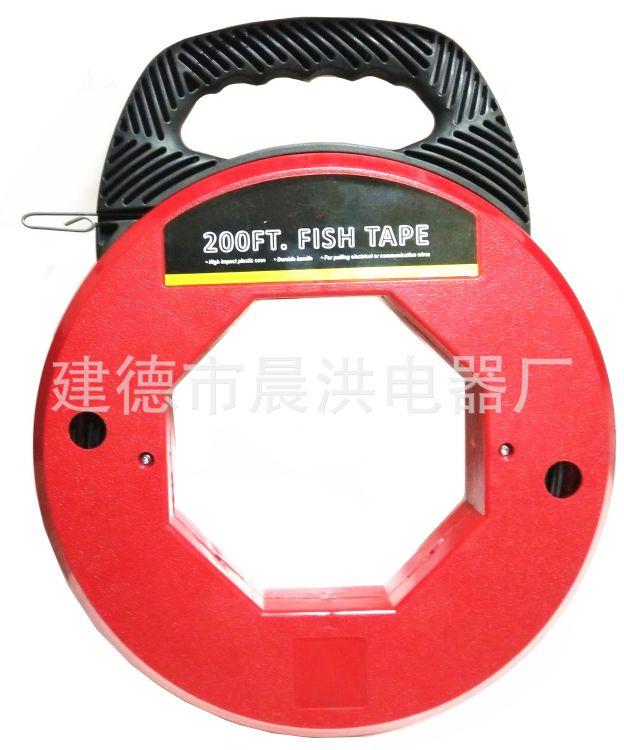 直角暗弯穿引器电工穿线器拉线器电线穿管器光纤线槽引线200FT