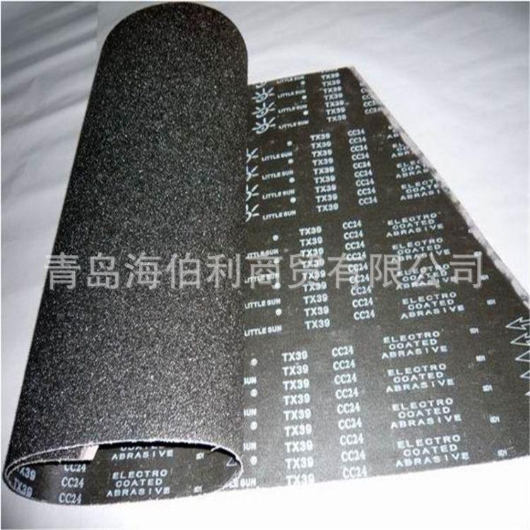 厂家直销420*1760小太阳TX39砂带碳素橡胶玻璃塑料不锈钢拉丝砂