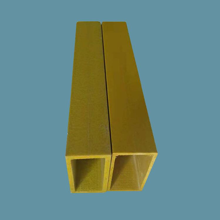 玻璃钢防腐拉挤方管 高强度玻纤无碱树脂方管圆管加工定制