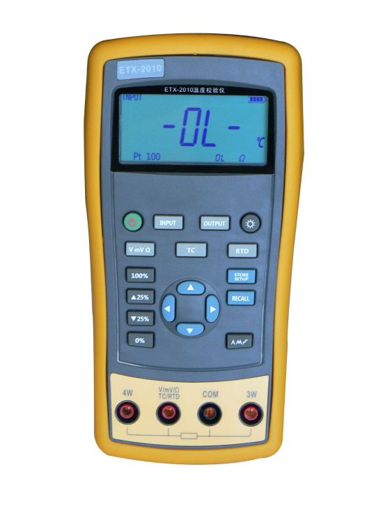 杭州中创ETX-1810温度校验仪 校准仪器仿真器 热电偶热电阻 正品