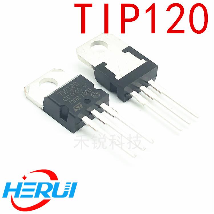 原装正品 TIP120 功率晶体管三极管 达林顿互补硅功率晶体管