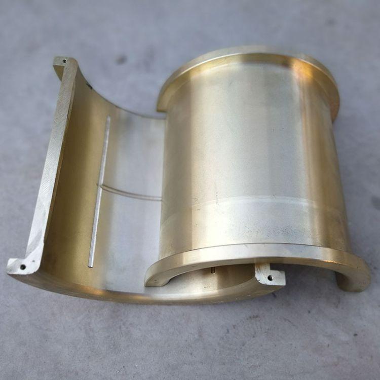 铜套厂家663锡青铜 多种机型轴套轴瓦 连杆瓦 可按图加工定做