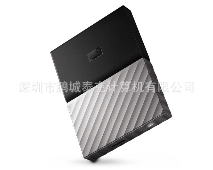 2.5寸1TB西数/WD My Passport Ultra黑灰版移动硬盘WDBTLG0010BGY