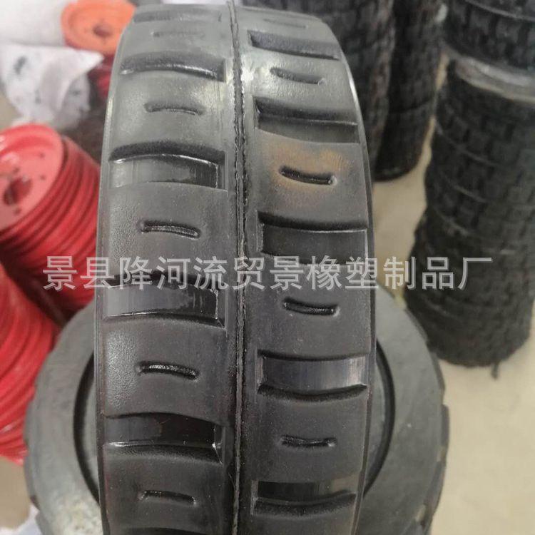 厂家直销实心轮胎 橡胶实心轮胎 灰斗车实心轮胎 400-8橡胶实心胎