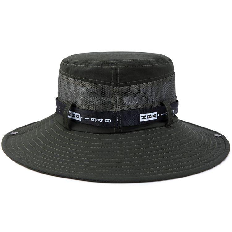 厂家直销男女春夏登山太阳帽可折叠大帽檐钓鱼帽韩版户外盆帽