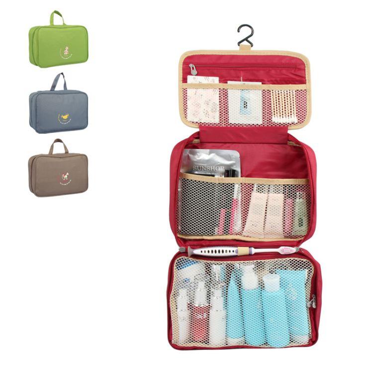 新款三代旅行洗漱包大号 悬挂展开式大容量沐浴包化妆收纳包