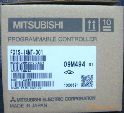 全新原装 全国联保供应三菱PLCFX1S-14MT-001 banner邦纳传感器