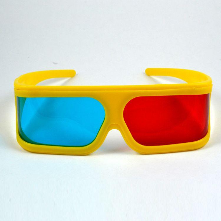 红蓝眼镜 3d眼镜被动式圆偏光3d立体影院