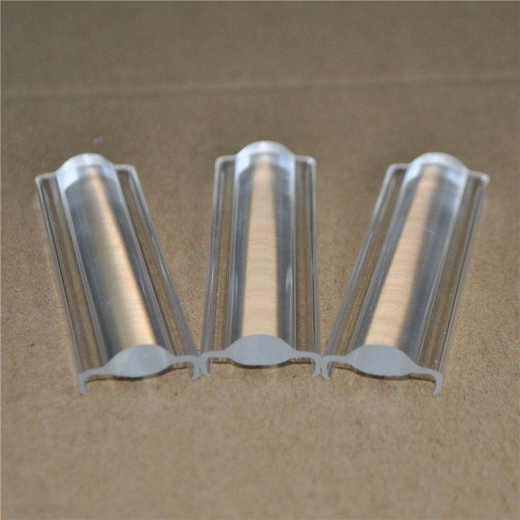 厂家私模定制pc挤出透镜高透光长条透镜挤出