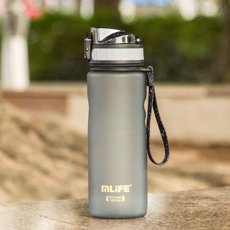 供应新款500ml塑料水杯 儿童户外tritan运动水壶 创意磨砂太空杯