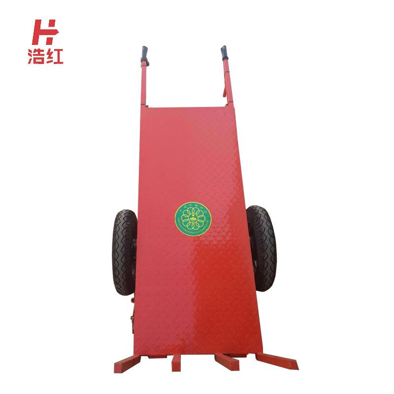 浩红机械 电动手推车 工地运输电动小推车工地 电动平板车 电动平板拉砖车