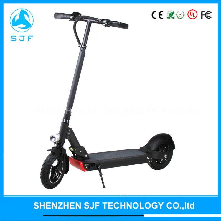 工厂直销10寸500W1000W后驱成人两轮电动滑板车折叠电动自行车