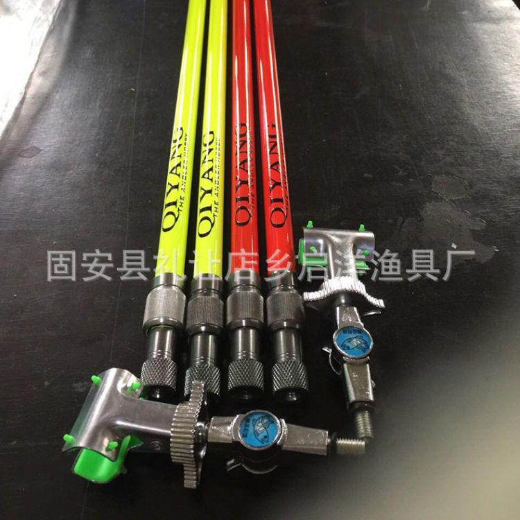 厂家直销碳素防风支架两节系列渔具钓竿钓椅支架陆水两用结实
