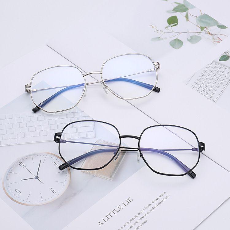2018新款防蓝光眼镜 潮流时尚平光镜 低头族框架眼镜厂家直销