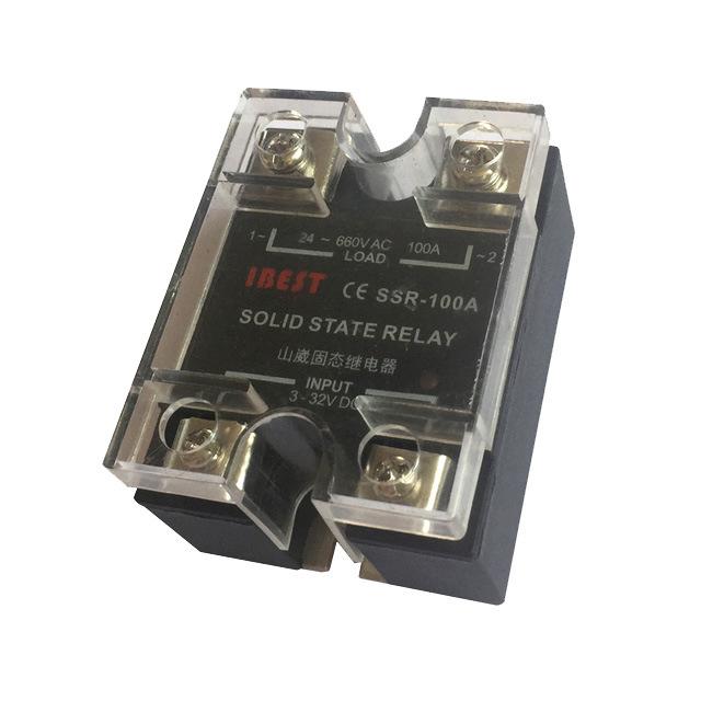 100A单相固态继电器SSR直流控制交流AC220V/AC380V 山崴生产厂家
