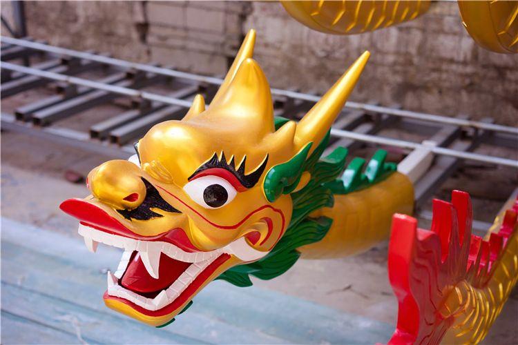 纯玻璃钢龙舟比赛竞技龙舟手划船12/22传统龙舟厂家直销