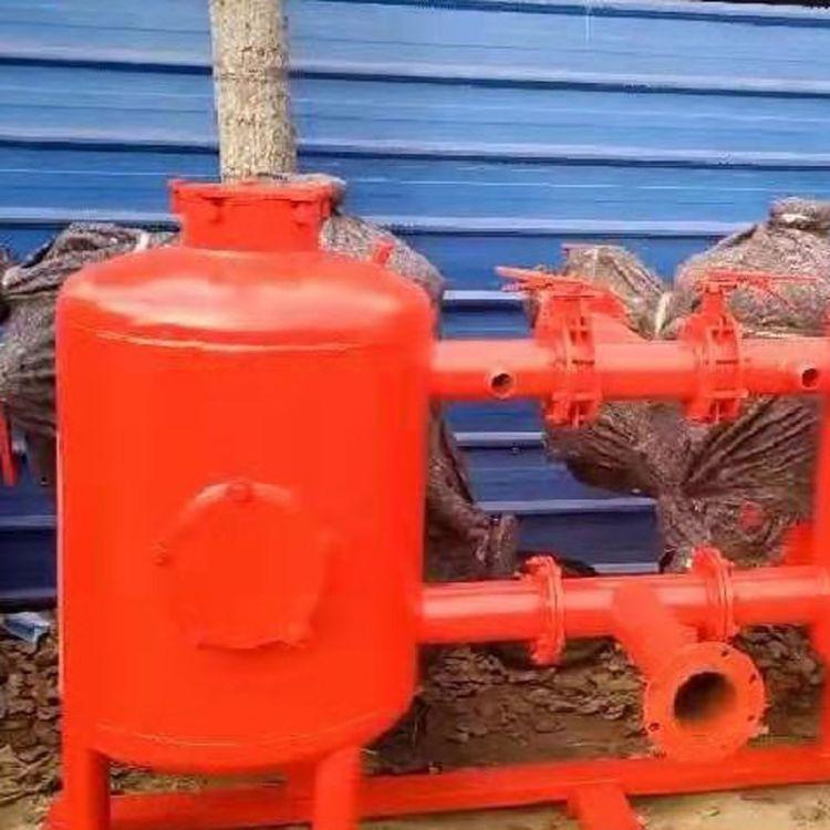 农用钢制砂石过滤器 滴喷灌首部过滤自动冲洗设 以利农业